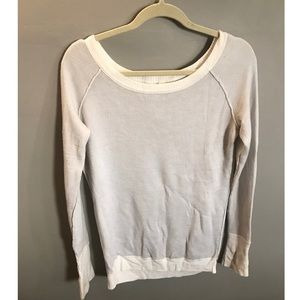 Lululemon Pullover Wide Neck Sweater, Size 8